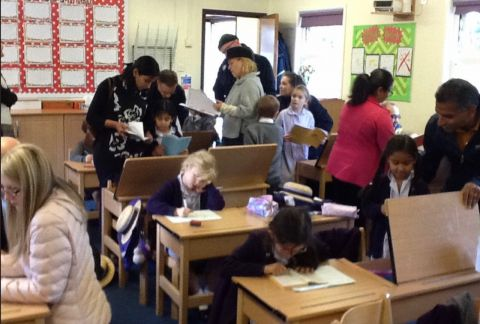 Year 2 Proud to Share Their Learning