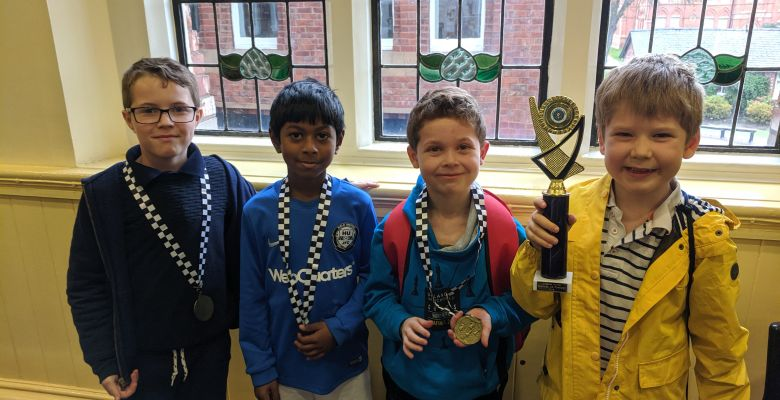 County Chess Success for Forest Superstars!