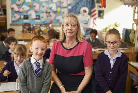 Inspirational Teacher Chalks Up 40 Years at Forest Prep
