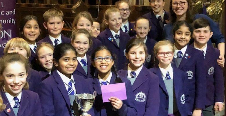 Choir Prize at the Bowdon Festival