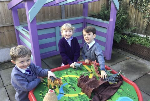 Reception: Our Soaring New Starters