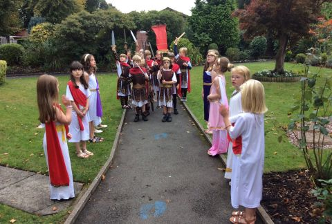 Bringing Learning to Life: The Return of the Romans